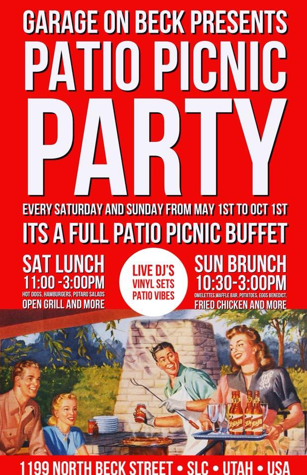 Patio Picnic Party 5/6/18